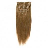 #12 Lys Gyldenbrun, 65 cm - Clip On Extensions