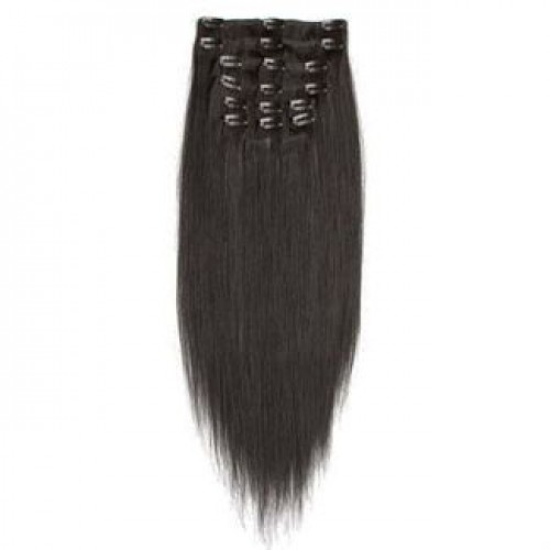 Clip On Extensions - #1B Sortbrun, 40 cm