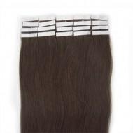 #2 Mørkebrun, 50 cm Tape On