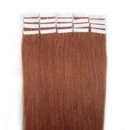 #33 Rødbrun, 50 cm Tape On