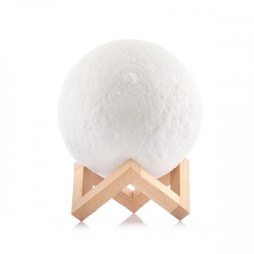 3D LED Månelampe - 20 cm