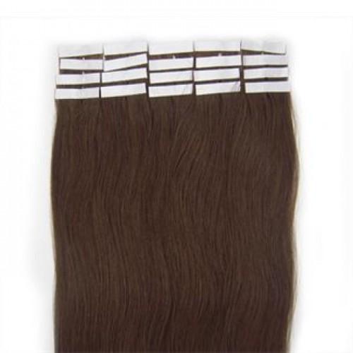 #4 Chokoladebrun, 50 cm Tape On