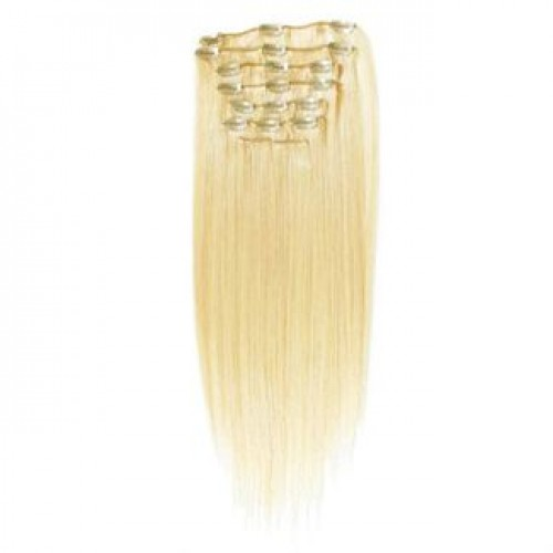 #613 Blond, 65 cm - Clip On