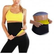 AVA® Black Neoprene Fitness Waist Cincher