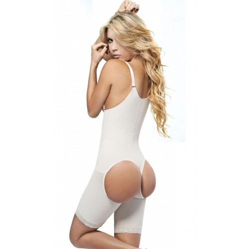 AVA® Shapewear Bodysuit Open Bust Butt lifter model 7099