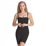 AVA® Shapewear Bodysuit Open Bust med straps, sort