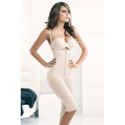 AVA® Shapewear Bodysuit Open Bust Mid Thigh (LB4621-LB4627)