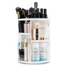 Monoko® 360º Rotating Cosmetic Organizer, Hvid