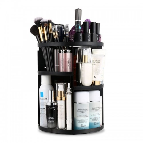 Monoko® 360º Rotating Cosmetic Organizer, Sort