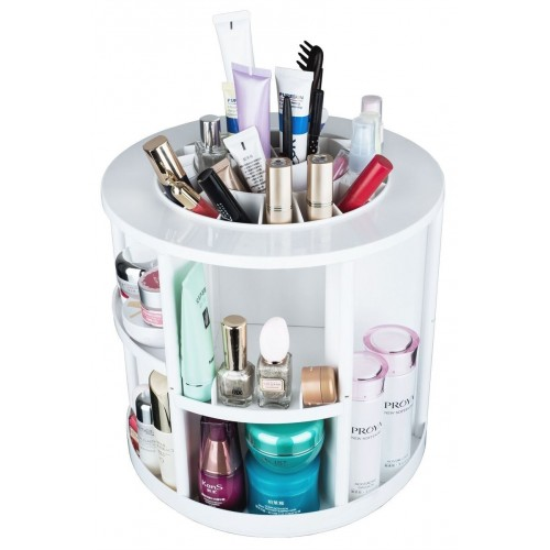 AVERY® 360º Rotating Cosmetic Organizer XL, Hvid
