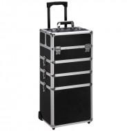 Avery® Beauty Box Train Case Trolley XL - Klassisk Sort