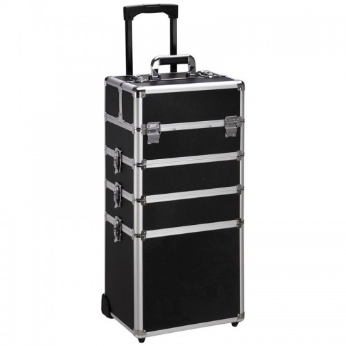 Avery® Beauty Box Train Case Trolley XL - Klassisk Sort