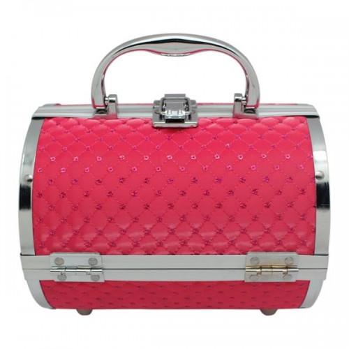AVERY® Smykkeskrin / Beauty boks i aluminium, pink
