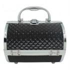 AVERY® Smykkeskrin / Beauty boks i aluminium, sort