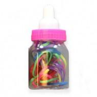Baby bottle snag-free Hårelastikker i Mix farver 30 stk