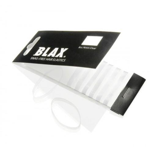 BLAX Hårelastikker Gennemsigtig / Clear 8 stk