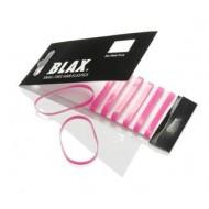BLAX Hårelastikker Pink 8 stk