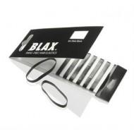 BLAX Hårelastikker Sort– 8 stk