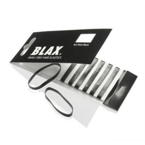 BLAX Hårelastikker Sort 8 stk
