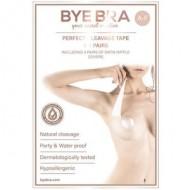 Bye Bra Perfekt Clevage Tape + Satin brystvorte covers, Str. A-F