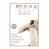 ByeBra® Brysttape med silikone brystvorteskjulere - Skål: A, B, C