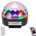 Diskokugle med LED-diskolys, Bluetooth højttaler og fjernbetjening - LS90