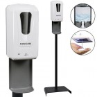 Dispenser med sensor til håndsprit inkl. Gulvstander D1406ST - Novicare