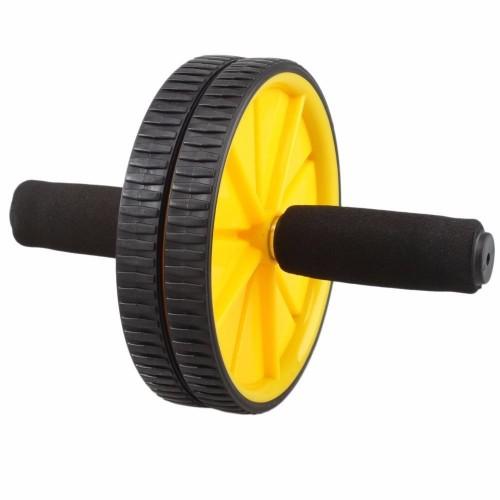 Dual Ab Wheel Mavehjul med 2 hjul