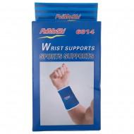 Håndledsbeskytter med elastikbind, blå 2 stk