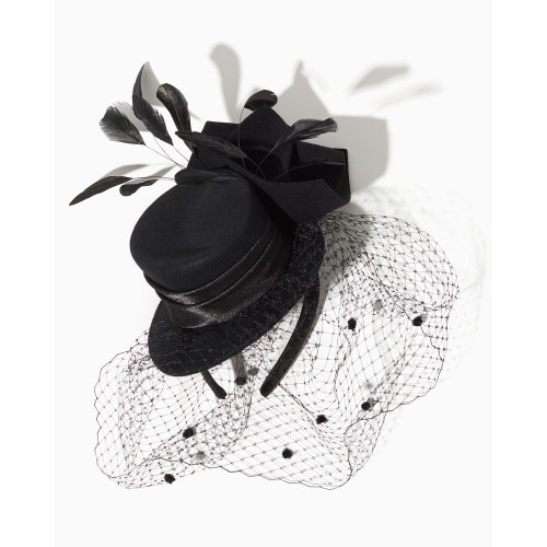 Elegant Fascinator i sort
