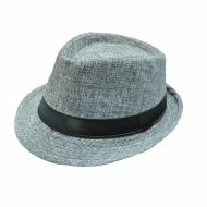 Fedora Hat - Unisex, Dark grey