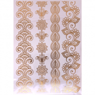 Flash Metallic Tattoos No. 10