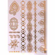 Flash Metallic Tattoos No. 13