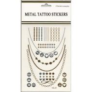 Flash Metallic Tattoos No. 16