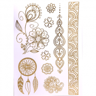 Flash Metallic Tattoos No. 1