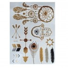 Flash Metallic Tattoos No. 4