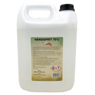 Flydende håndsprit / hånddesinfektion 75% Dankemi – 5 liter