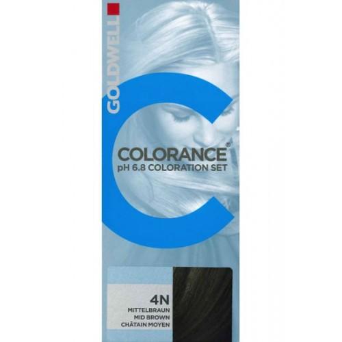 Goldwell Colorance Hårfarve 4N Mid Brown