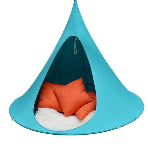 Hængekøje telt / Hængehule til uden- og indedørs - Blå