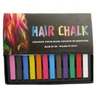 Hårkridt Hair Chalk - 12 stk.