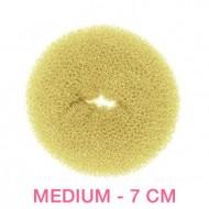 Hair Donut - Blond - 7 cm
