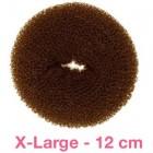 Hair Donut Brun, 12 cm