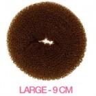 Hair Donut - Brun - 9 cm