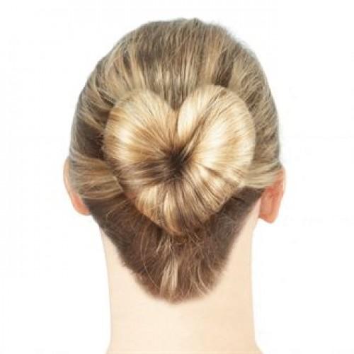 Hair Donut Love Hjerteformet hårknold