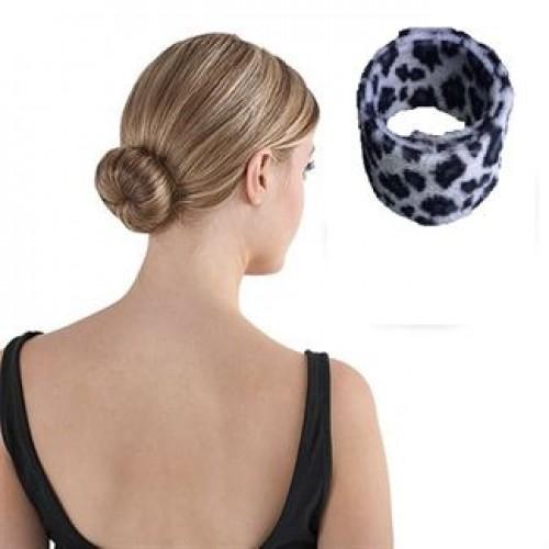 Hairagami single hvid Leopard