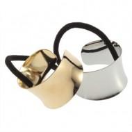 Haircuff - Metal Wrap style i Guld eller sølv