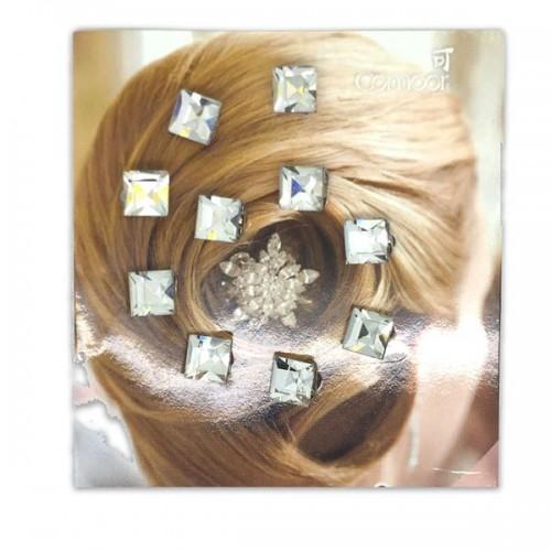 Hår Krystaller / Hair Diamonds  (10 stk)