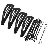 Hårspænder + hårnåle - 14 stk.