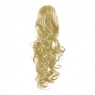 Hestehale Extensions - Curly Blond 613#