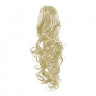 Hestehale Extensions –Curly White 60#